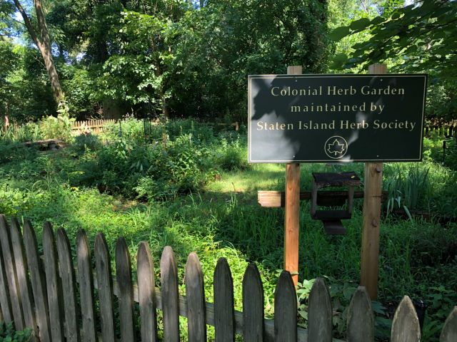 Open Garden Days: Colonial Herb Garden At The Historic Conference House U2013  Open Weekdays Through 11/30/18 |